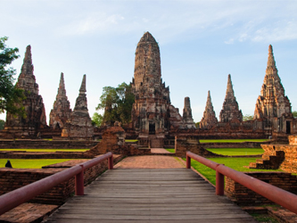 Ayutthaya, telo