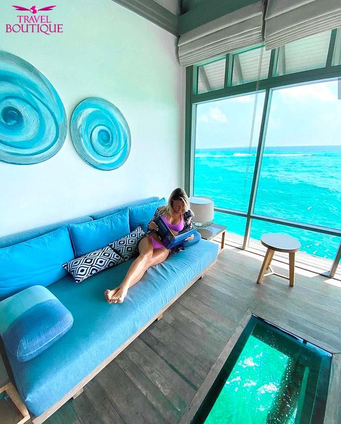 Maldivi vila na vodi Manafaru2
