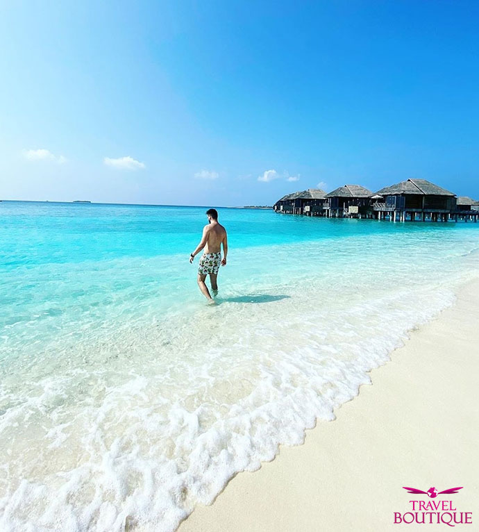 Maldivi Putnici Plaža