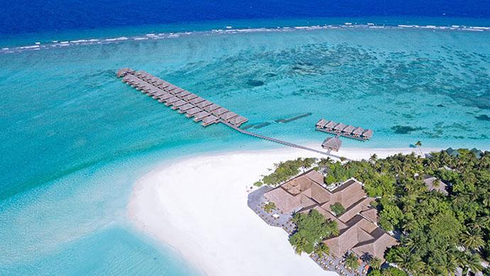 Meeru Island Resort na Maldivima