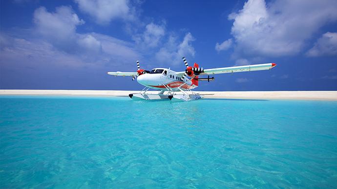 Hidroavion na Maldivima