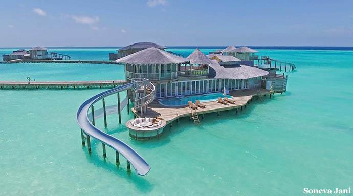Maldivi water vile