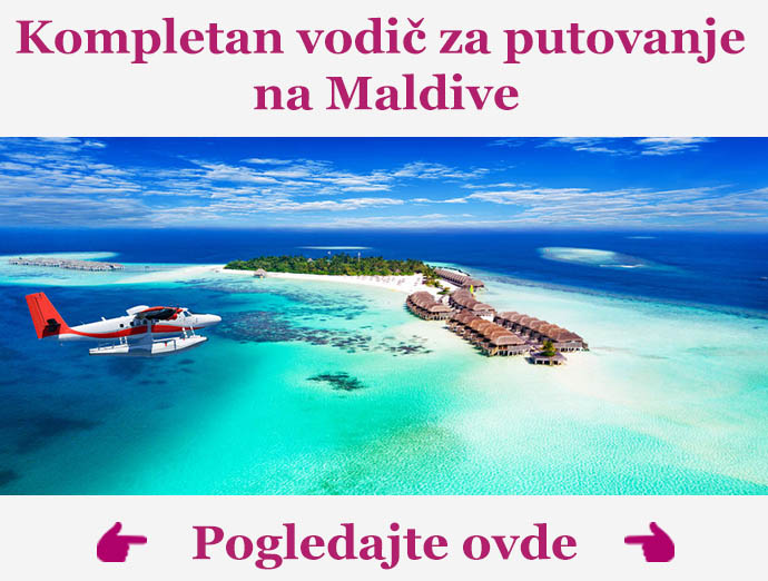 Kompletan vodic za putovanje na Maldive