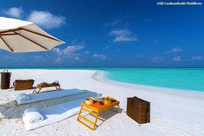 plaža na Gili Lankanfushi