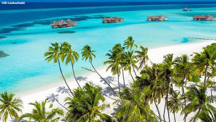 plaža na Gili Lankafushi