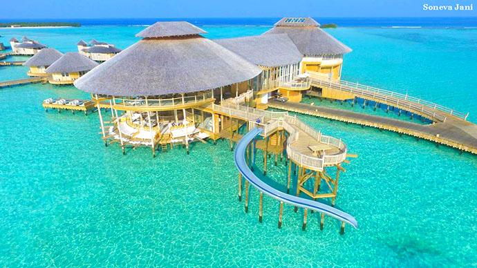 bungalov na vodi